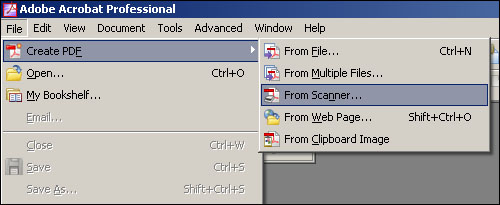 Batch Scanning Into PDF Files Using Acrobat on Fujitsu fi-5120C