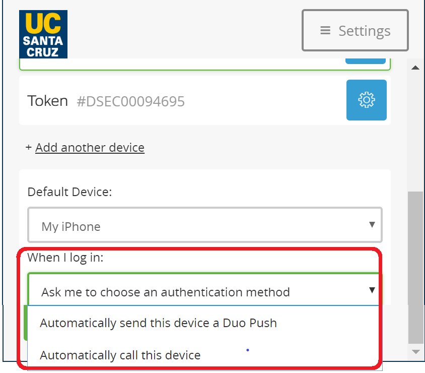 Enroll your Device